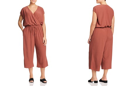 Eileen Fisher Plus Wide Leg Jumpsuit - Bloomingdale's_2