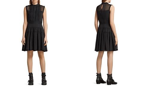 ALLSAINTS Myra Pintuck Dot Dress - Bloomingdale's_2