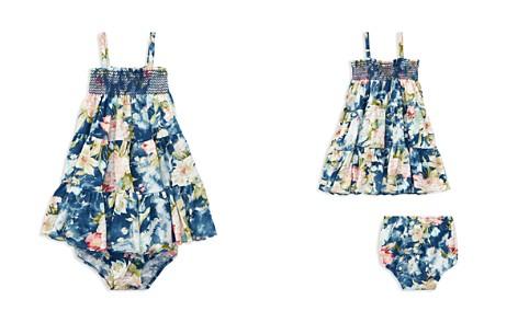 Ralph Lauren Girls' Floral Smocked Dress & Bloomers Set - Baby - Bloomingdale's_2