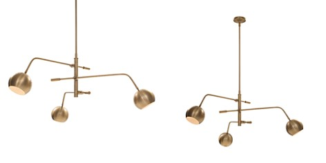 Mitchell Gold Bob Williams Luna Chandelier - Bloomingdale's_2