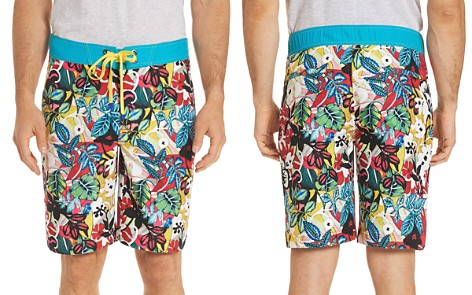 Robert Graham Barbarito Floral Board Shorts - Bloomingdale's_2