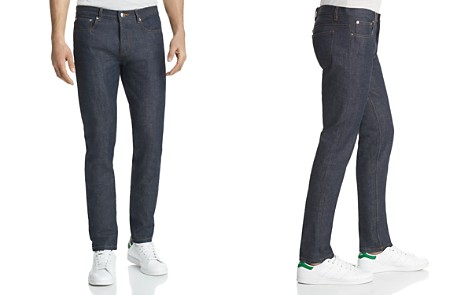 A.P.C. Petit New Standard Slim Straight Fit Jeans in Indigo - Bloomingdale's_2