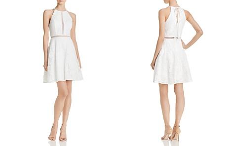 AQUA Lace Cocktail Dress - 100% Exclusive - Bloomingdale's_2