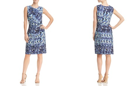NIC+ZOE Seaside Tile-Print Dress - Bloomingdale's_2