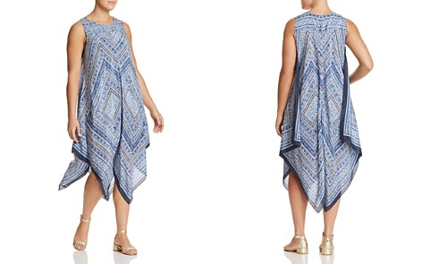 NIC+ZOE Plus Silky Sea Midi Dress - 100% Exclusive - Bloomingdale's_2