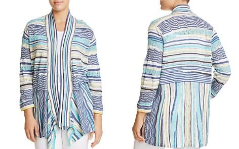 NIC+ZOE Plus Good Vibe Printed Cardigan - Bloomingdale's_2