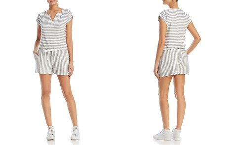 Three Dots Cape Cod Striped Romper - Bloomingdale's_2