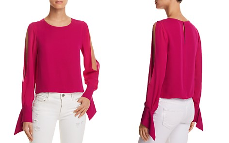 Ramy Brook Addy Slit-Sleeve Top - Bloomingdale's_2
