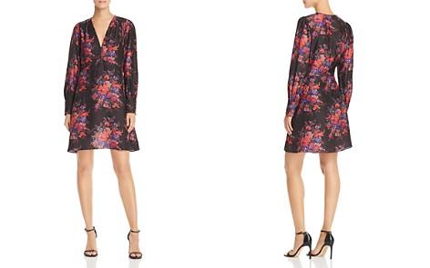 McQ Alexander McQueen Floral Silk Dress - Bloomingdale's_2