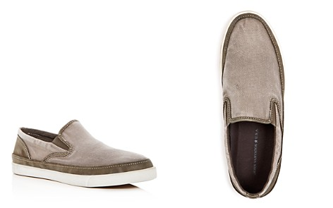 John Varvatos Star USA Men's Distressed Slip-On Sneakers - Bloomingdale's_2