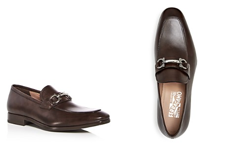 Salvatore Ferragamo Men's Leather Apron Toe Loafers - Bloomingdale's_2