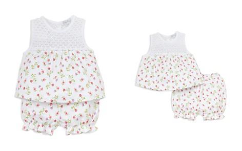 Kissy Kissy Girls' Blooming Berries Print Top & Bloomers Set - Baby - Bloomingdale's_2