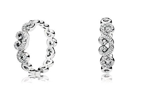 PANDORA Sterling Silver Heart Swirls Ring - Bloomingdale's_2