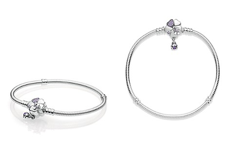 PANDORA Sterling Silver Wildflower Meadow Clasp Bracelet - Bloomingdale's_2