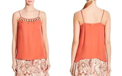 Haute Hippie Brush With the Law Grommeted Silk Top - Bloomingdale's_2