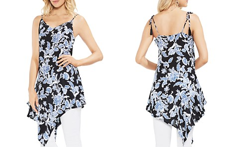 VINCE CAMUTO Floral-Print Asymmetric Tunic - Bloomingdale's_2
