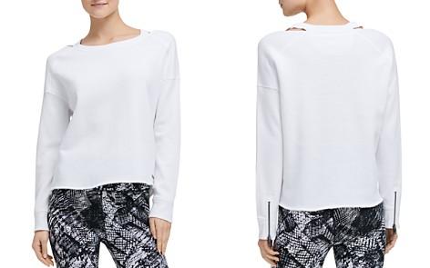 Donna Karan New York Distressed Cutout Sweatshirt - Bloomingdale's_2