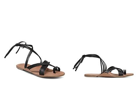 Via Spiga Women's Allegra Leather Ankle Tie Sandals - Bloomingdale's_2