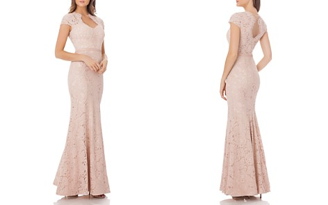 JS Collections Lace Mermaid Gown - Bloomingdale's_2
