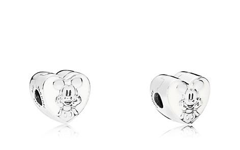 PANDORA Sterling Silver & Enamel Disney Vintage Mickey Clip - Bloomingdale's_2