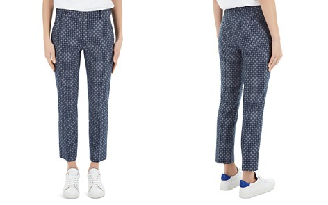 Gerard Darel Marc Printed Crop Pants - Bloomingdale's_2