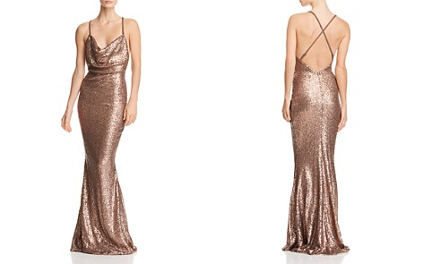 Nookie Seduce Sequined Gown - Bloomingdale's_2