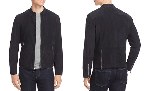 John Varvatos Collection Suede Moto Jacket - Bloomingdale's_2