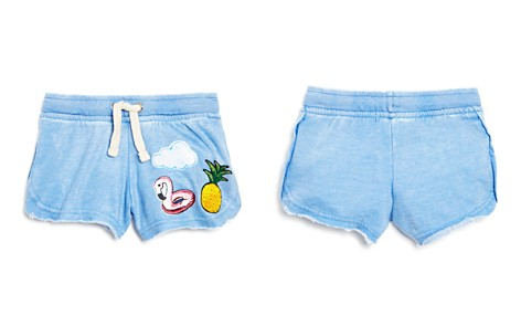 Play Six Girls' Graphic Patch Shorts - Little Kid - Bloomingdale's_2
