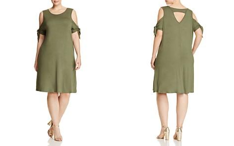 Alison Andrews Plus Tie Sleeve Dress - Bloomingdale's_2