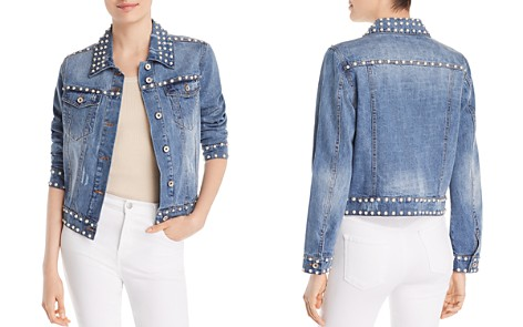 Bagatelle Embellished Denim Jacket - Bloomingdale's_2