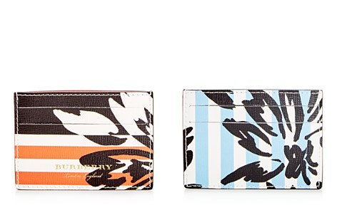 Burberry Patchwork Floral Sandon Leather Card Case - Bloomingdale's_2