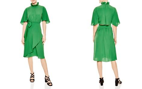 Sandro Rebella Midi Dress - Bloomingdale's_2