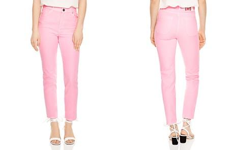 Sandro Robyn Cropped Slim-Leg Jeans - Bloomingdale's_2