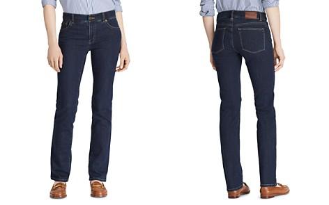 Lauren Ralph Lauren Straight Leg Jeans in Rinse - Bloomingdale's_2