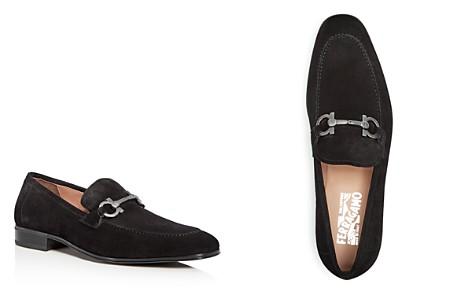 Salvatore Ferragamo Men's Suede Apron Toe Loafers - Bloomingdale's_2