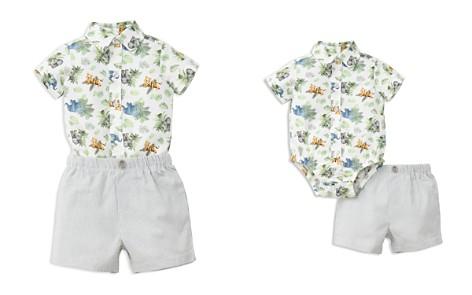 Little Me Boys' Jungle Bodysuit & Shorts Set - Baby - Bloomingdale's_2