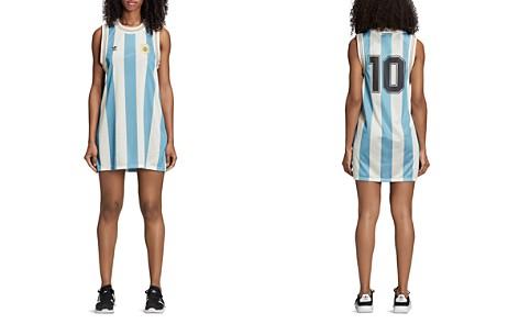 Adidas Argentina Striped Mesh Tank Dress - Bloomingdale's_2