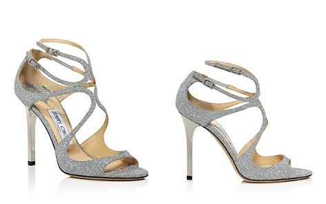 Jimmy Choo Women's Lang Glitter Leather Strappy High-Heel Sandals - Bloomingdale's_2