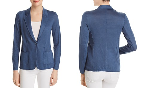 Majestic Filatures Relaxed Raw-Edge Blazer - Bloomingdale's_2