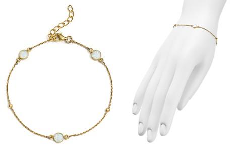 Argento Vivo 18K Gold-Plated Sterling Silver Round Opal Station Bracelet - Bloomingdale's_2
