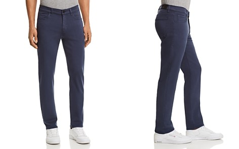 7 For All Mankind Slimmy Luxe Sport Slim Fit Jeans in Indigo Dust - Bloomingdale's_2