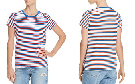 Levi's Perfect Striped Tee - Bloomingdale's_2