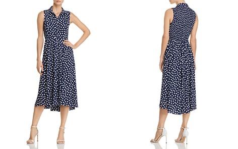 kate spade new york Cloud Dot-Print Midi Dress - Bloomingdale's_2