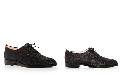 SJP by Sarah Jessica Parker Women's Ace Glitter Plain Toe Oxfords - Bloomingdale's_2