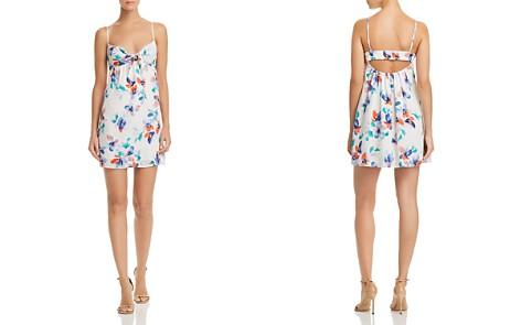 Jack by BB DAKOTA Marlee Floral Print Cutout Dress - Bloomingdale's_2