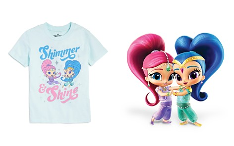 Junk Food x Nickelodeon Girls' Shimmer and Shine © Tee, Little Kid - 100% Exclusive - Bloomingdale's_2