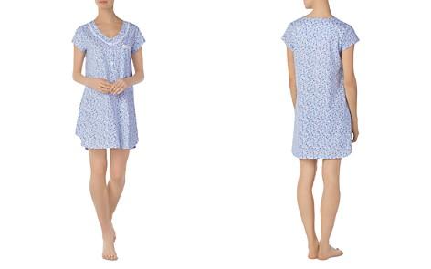 Eileen West Cap Sleeve Short Gown - Bloomingdale's_2