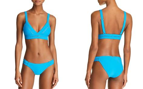 PilyQ Stitched Bikini Top & Stitched Side Bikini Bottom - Bloomingdale's_2