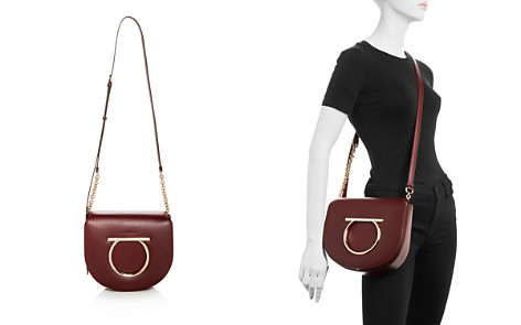 Salvatore Ferragamo Large Vela Leather Crossbody - Bloomingdale's_2