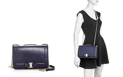 Salvatore Ferragamo Vara Leather Shoulder Bag - Bloomingdale's_2